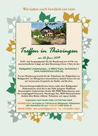 Treffen: Thüringen