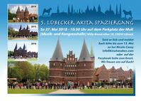 Akita Treffen Lübeck 2018 Holstentor