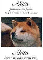 Publikationen: Akita